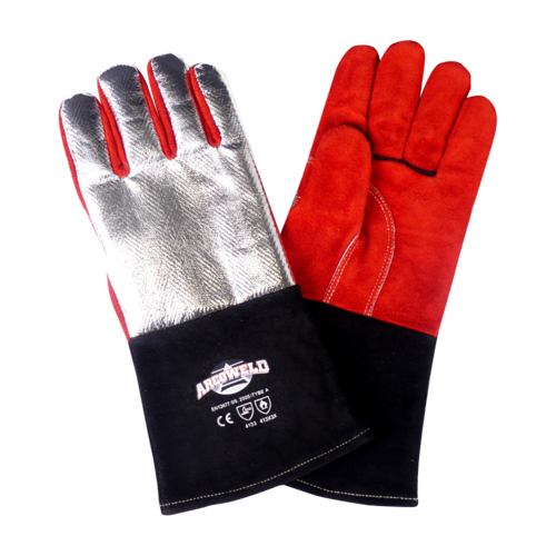 Aluminised Heat Resistant Welding Gloves
